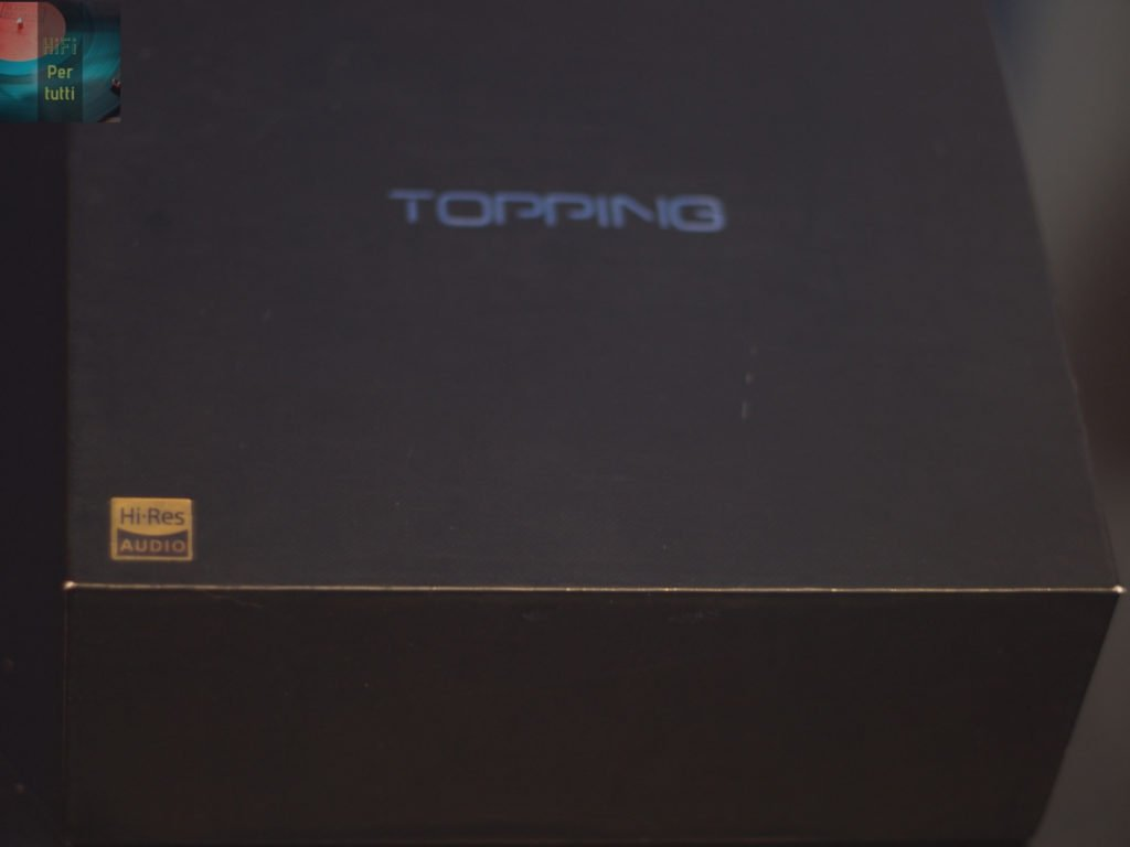 recensione topping d50